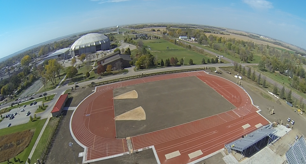Track Aerial View 10-