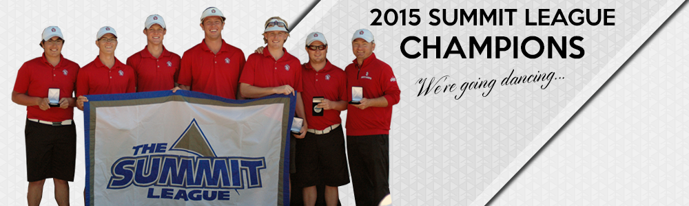 2015 Men's Golf Summit League Champs
