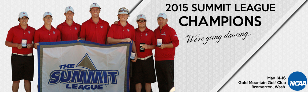 2015 Men's Golf Summit Champs