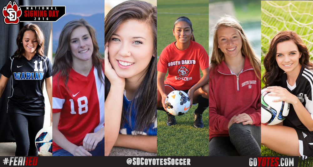 Women's soccer signees